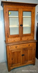 Antique Hutch Cabinet