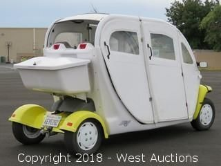2002 GEM E825 Four Passenger Electric Golf Cart