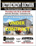 Retirement Auction - 5600 Sq ft Building on 1.9 ac. - Tire Retread Equipment