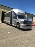 USED 2014 FORD E450 TIFFANY 20 PASSENGER LIMO BUS FOR SALE IN CA