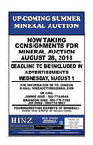 SUMMER MINERAL AUCTION