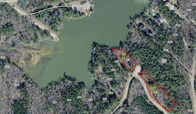 Bank Owned Waterfront Lot on Cedar Creek Lake in Great Falls, SC