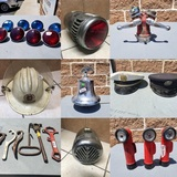 Vintage Fire Fighter & Fire Department Memorabilia and Collectibles Auction
