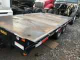 USED 2016 BELMONT FLATBED TRAILER FOR SALE IN NEW JERSEY