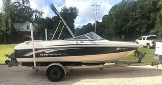 Chaparral Boat with Motor & Trailer