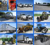 Complete Trucking Fleet & Support Equipment Absolute Retirement Auction