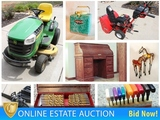 Smithville Downsizing Auction: Titan Generator, Deere Lawn Tractor, Shop Smith, Tools & More