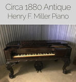Henry Miller Grand Piano Online Auction! Alexandria, Va