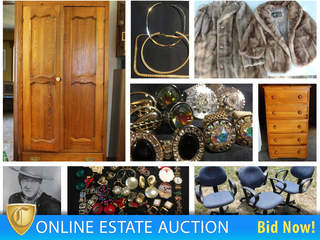 Estate Auction: Jewelry, Furniture, Household Decor