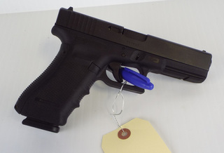 Glock model 17 Gen 4 Pistol, 9mm caliber
