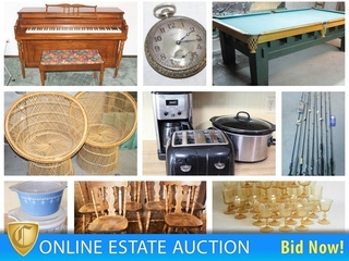 Claycomo Estate Auction: Furniture, Fishing, Poker Table, Collectibles & More!