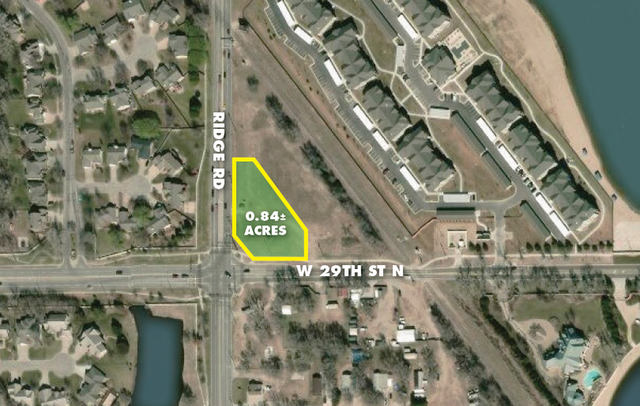 (NW) ABSOLUTE - .84 +/- Acre Undeveloped Commercial Lot