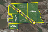 (MAIZE) ABSOLUTE - K-96 Hwy & 119th | 241+/- Undeveloped Acres - Multi-Tract Bidding