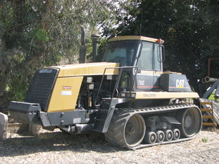 CAT CHALLENGER 75C belted crawler