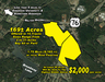 165+/- Acres offered in 15 Tracts in Sizes from 2 to 31 Acres- Buy All or Part