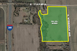 (MULVANE) ABSOLUTE - 30.35 +/- Acres Farm Land w/ Creek