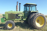 10/24 John Deere Tractor- Hay Equipment