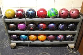 Retro Bowling Alley Auction - Lanes, Seating, Restaurant