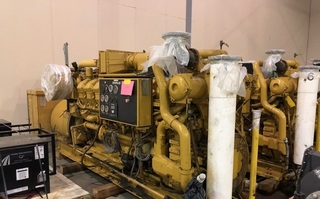 Caterpillar Generator Set Model G3516 1025: