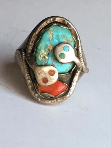 Bijoux Fantaisie Vintage Navajo Persin Turquoise Argent Sterling With A Long Standing Reputation