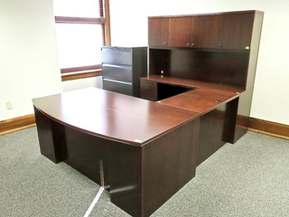 250 000 Sq Ft Filled With High End Office Furnishings Art Antiques File Cabinets Cubicles Oriental Rugs Executive Boardroom Furniture