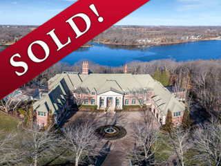 SOLD! Spectacular 4-Acre Lakefront Estate with Magnificent 13,000+ sf Residence
