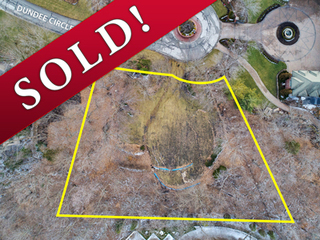 SOLD! .68-Acre Lakeview Lot on Private Cul-de-Sac in Gated Golf Community