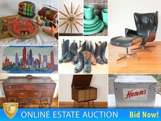 Amazing Pop Culture Estate Auction Toys, Furniture, Clothes, Books & Tools