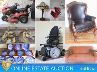 Gladstone Estate Auction – Furniture, Home Goods & Décor