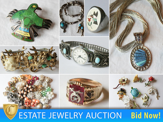 14K Gold, Sterling, & Native American Jewelry Auction