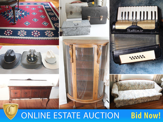 Square Dancer's Estate Auction, Antique & Vintage Goods, Lovely Furnishings Galore