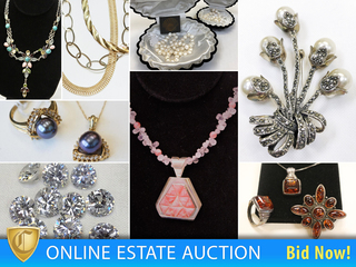 Exquisite 14K Gold, 925 Silver, Tahitian Black Pearls, Necklaces, Rings, Earrings and More
