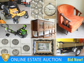 Meticulous Household, Furniture, Coins, Jewelry, Lawn & Garden Equipment & Tools