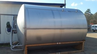 6000 Gallons. Sanitary Jacketed Tank: