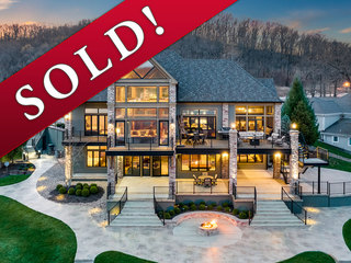 SOLD! Spectacular 7000sf+ Lakefront Retreat with Stunning Residence, Guest House and 4500sf Dock  | Lake of the Ozarks | MM42