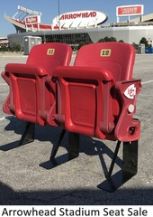 Arrowhead Stadium Seat Sale- Double and Single Stadium Seats