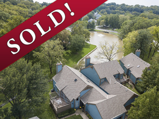 SOLD! Westwoods Lakefront 2-3 Bedroom Patio Home on Cul-de-sac | Liberty, Missouri