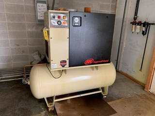 Ingersoll Rand Air Compressor Model UP6-15CTAS-150PSG SN CBV209352: