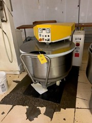 Kemper Spiral Mixer Type President 150A SN 629480 With One Bowl: