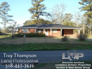 17.76 Acres with home in Mansura, LA