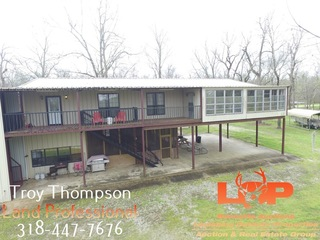 Camp and 1.194 Acre Lot For Sale in Marksville, LA