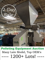 Online Only Auction -- Pelleting Equipment, Metal Fab Auction