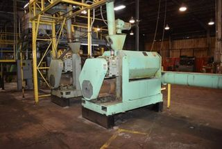INSTA-PRO MODEL 4500 PRESS, INCLUDES FEEDER AND CRAMMER, 50 HP MOTOR: