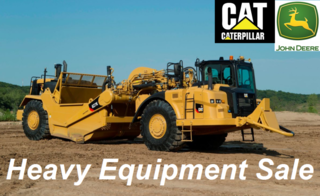 LIVE WEBCAST AUCTION -- Cat & Deere Earth-Moving, Tractor Heavy Equipment Sale from Major Energy Company
