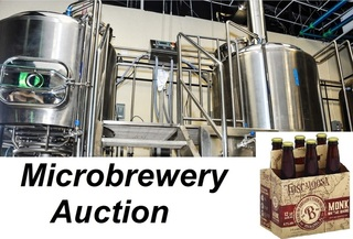Online Auction Only: Complete Micro-Brewery Available formerly of Band of Brothers Brewing