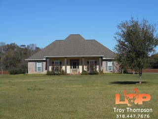 17.33± Acres and Home FOR SALE in Bordelonville, LA