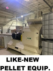 Negotiated Sale -- New, Never-Used Pelleting Equipment -- Multi-Location Sale