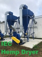 Negotiated Sale -- IEC Industrial Hemp Dryer - Model 3000