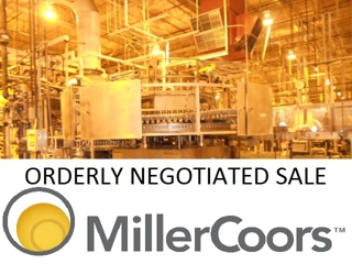 AVAILABLE NOW - Surplus Equipment from the Ongoing Operations of MILLERCOORS