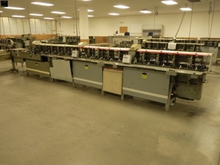 Closed and Sold! Lettershop & Material Handling Equipment - Rasmus